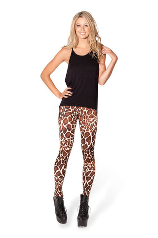 Leggings - Leopard Print Leggings - Epic Leggings