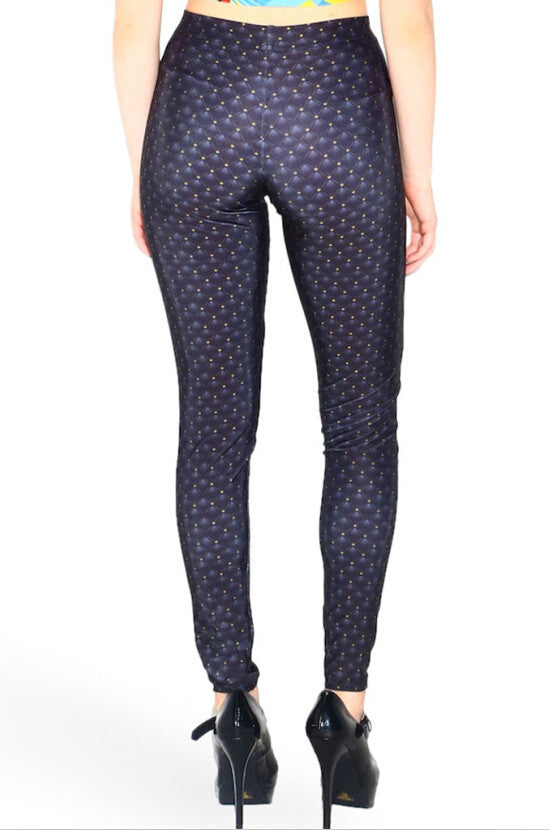 Pinpoint Patterned Leggings