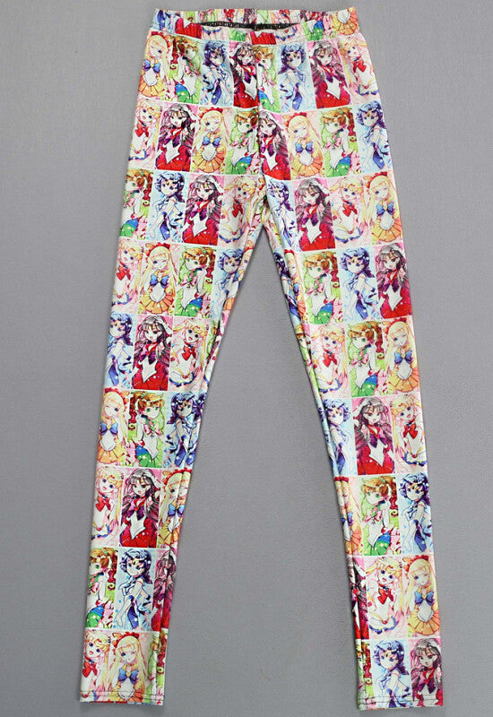 Leggings - European And American Star And Sailor Series Sexy Leggings - Epic Leggings