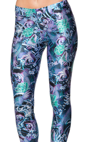 Leggings - Flower Sexy Star Tight Leggings - Epic Leggings
