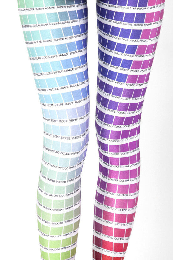 In Spring Of Star And Color Box Sexy Leggings