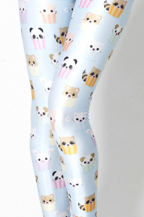 Leggings - Cute Animal Blue Leggings - Epic Leggings