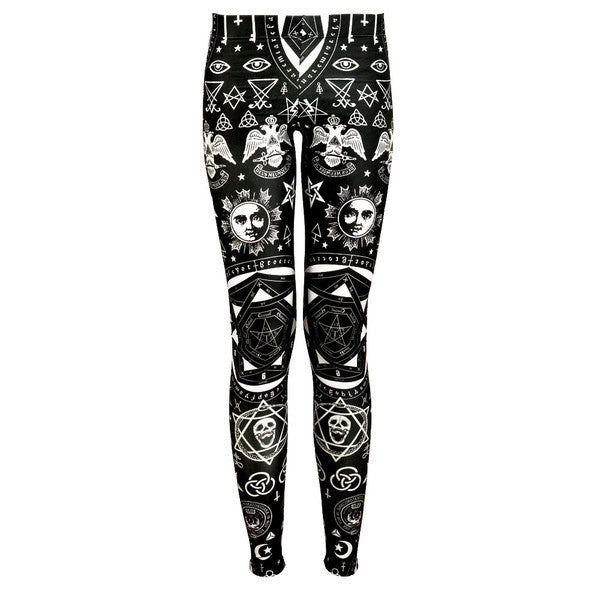 Leggings - Star And Laorentou Slinky Leggings - Epic Leggings