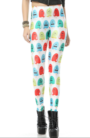 Popsicle Print Leggings
