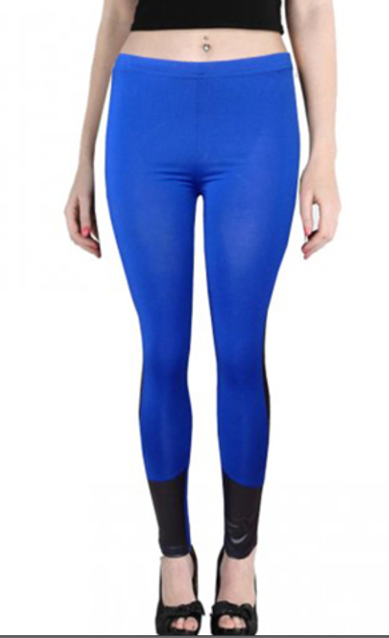 Leggings - Sexy Blue and Black Leggings - Epic Leggings