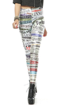Leggings - Chic Letter Print Leggings - Epic Leggings