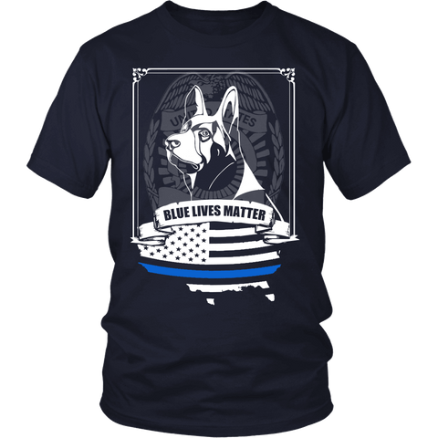 Blue Lives Matter Apparel