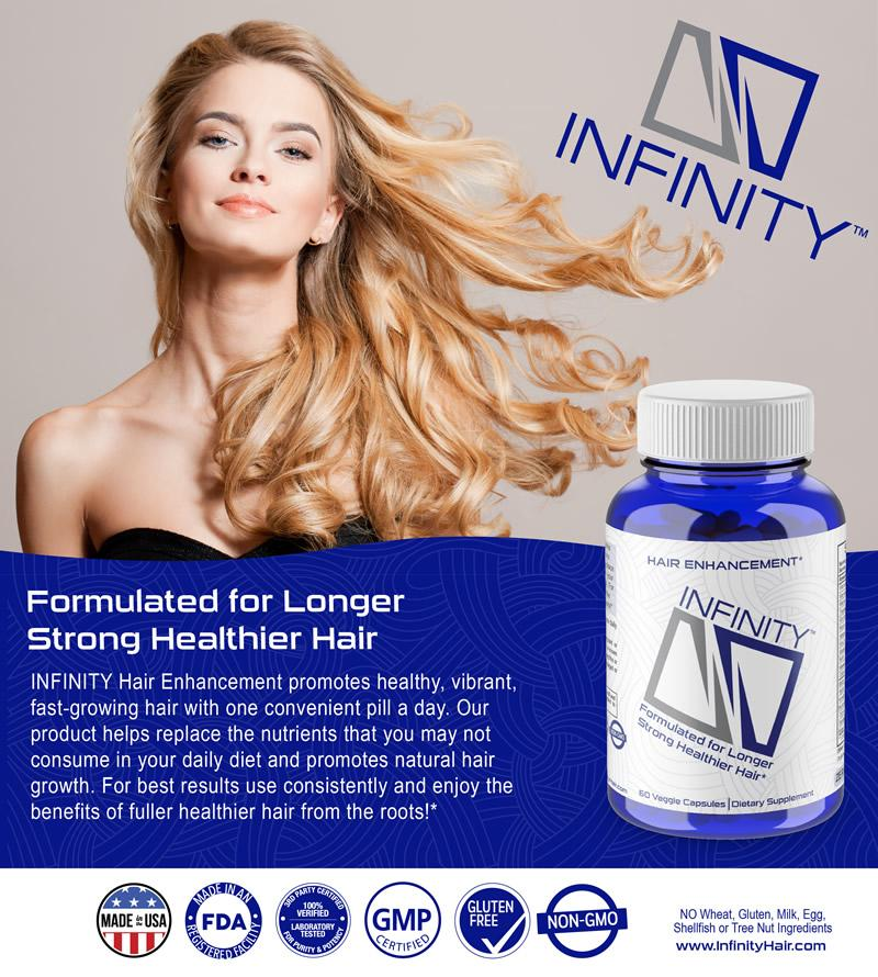 Infinity Hair Vitamins for Women and Men
