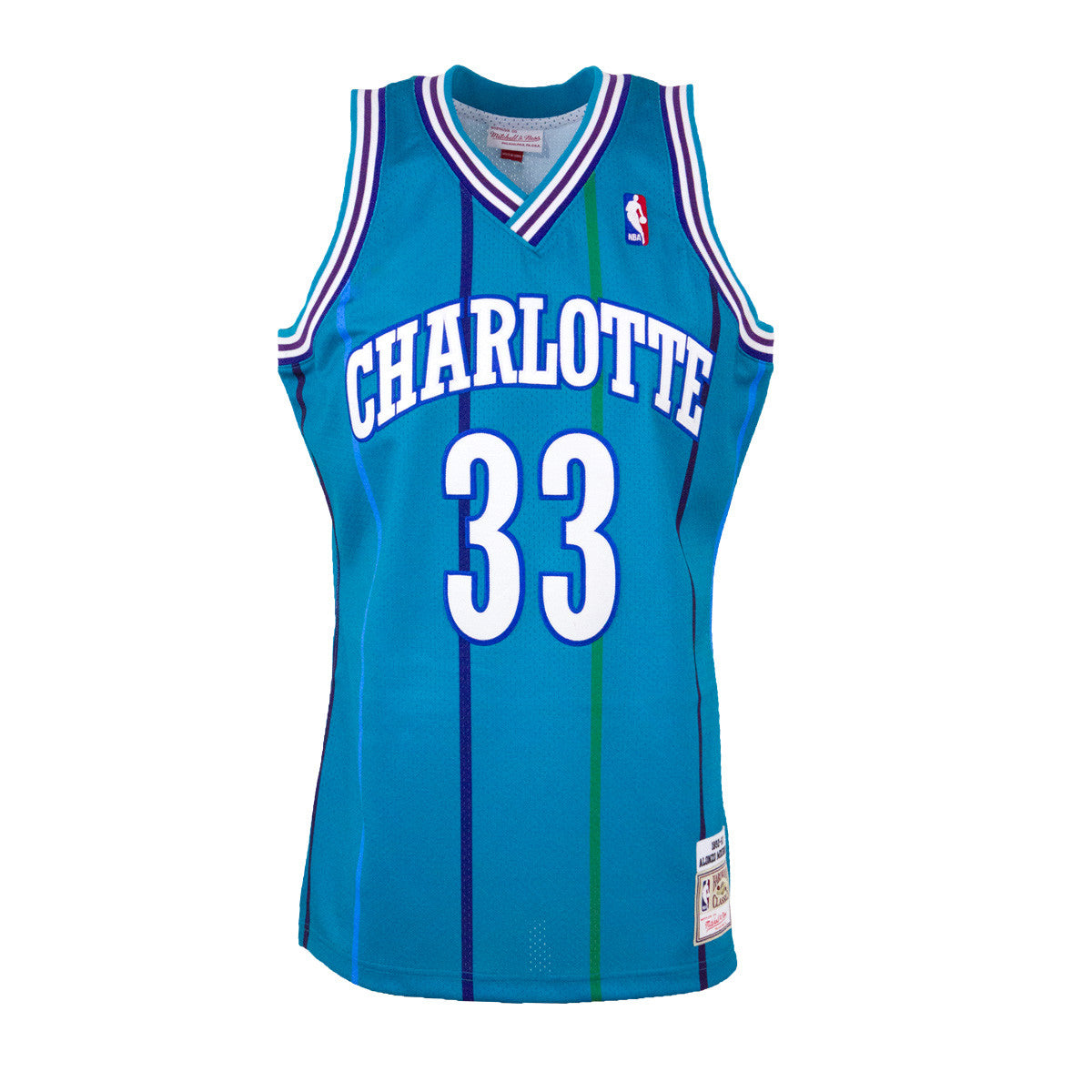 f0cd2ee9d8f coupon alonzo mourning 1992 93 authentic jersey charlotte hornets 61456  652fd