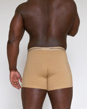 Load image into Gallery viewer, ATOB BOXER BRIEF - KHAKI LOGO