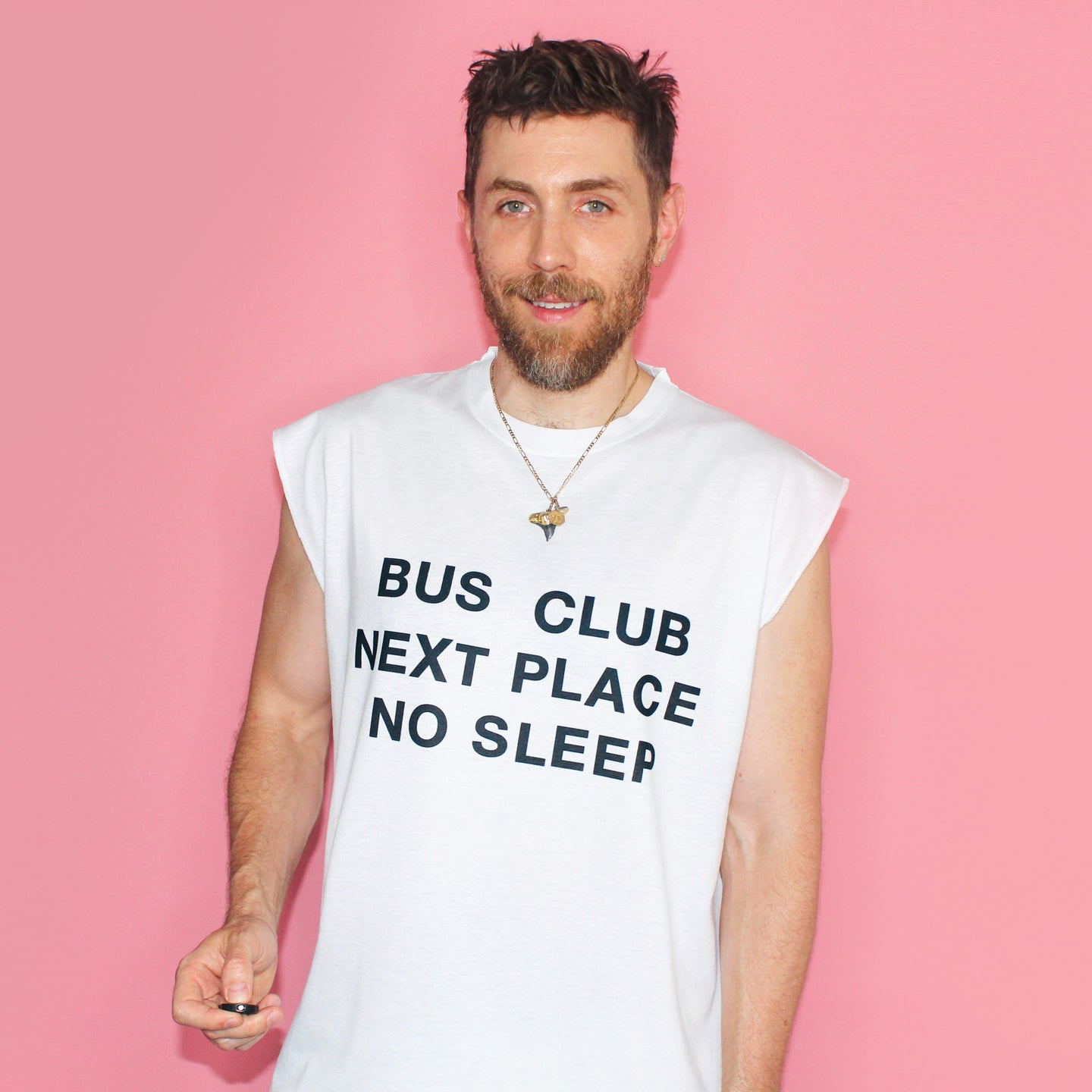 Nother Club Muscle T - White