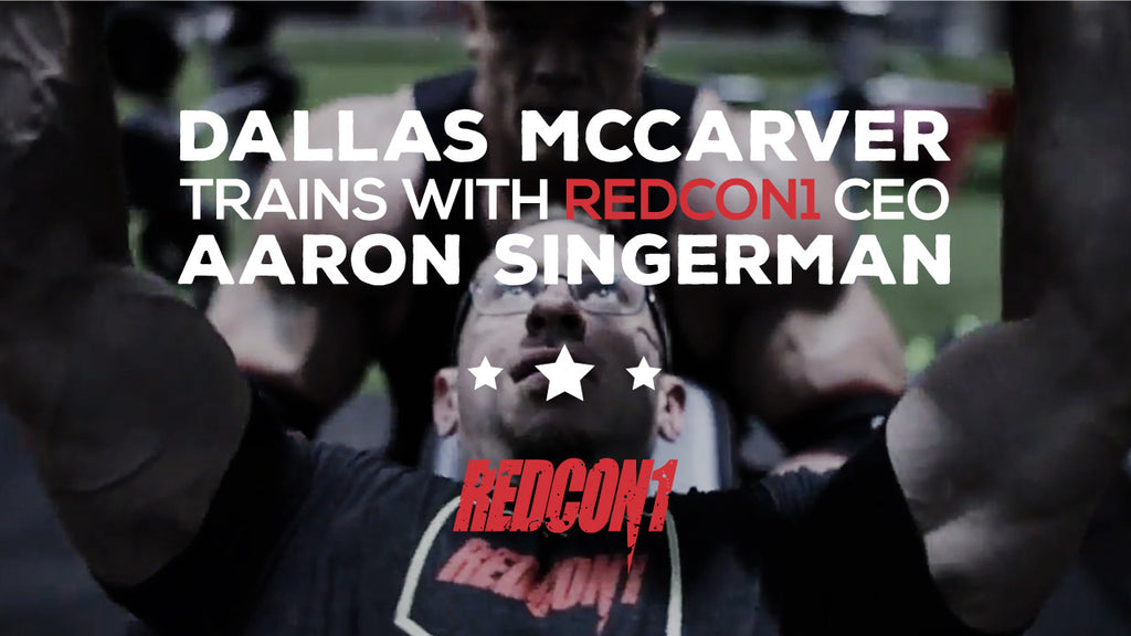 Dallas McCarver Trains With RedCon1 CEO Aaron Singerman