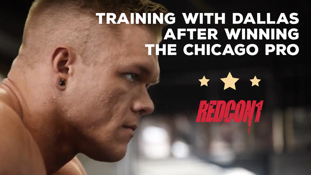 Dallas Mccarver Trains One Day After Winning The Chicago Pro