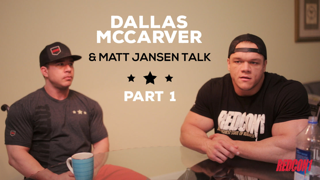 Dallas Mccarver And Matt Jansen Talk Part 1.