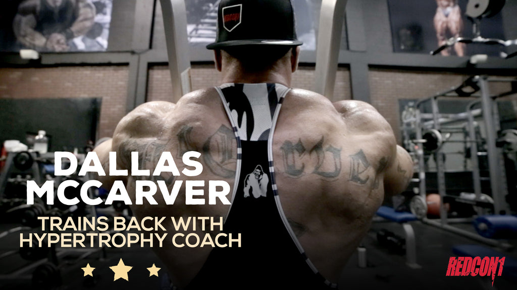 Dallas Mccarver Trains Back With Hypertrophy Coach