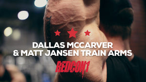 Dallas McCarver & Matt Jansen Train Arms