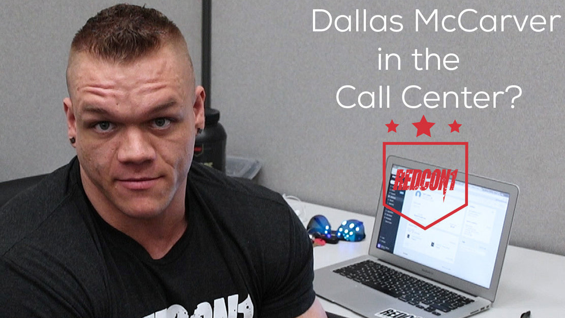 Dallas McCarver makes calls to customers!!!