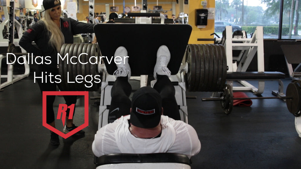 Dallas McCarver & Ashley Train Quads!