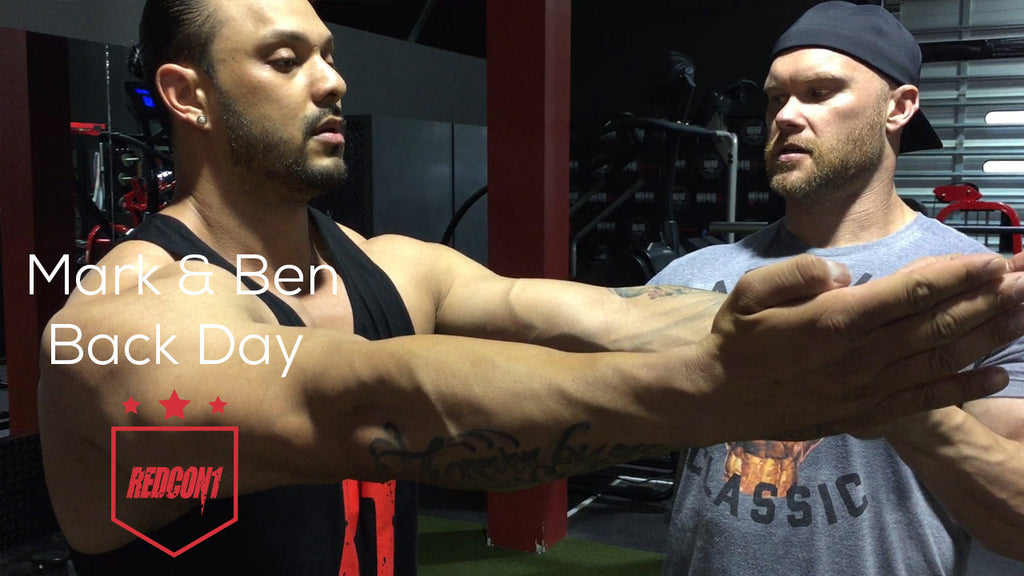 Mark & Ben Back Day!
