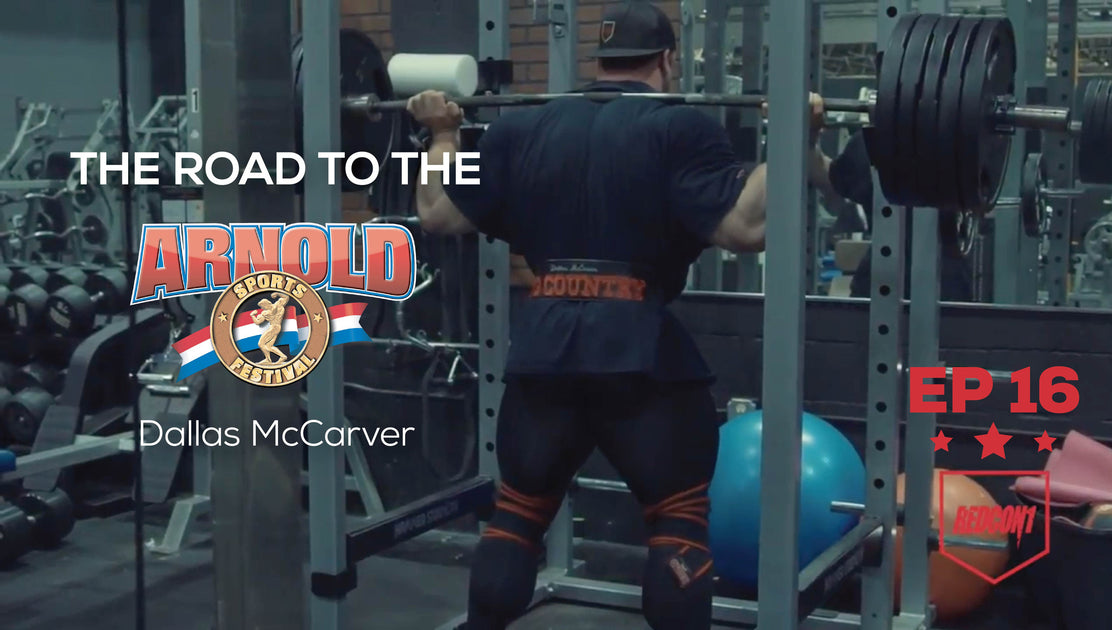 Road To The 2017 Arnold Classic - Dallas McCarver - Ep.16