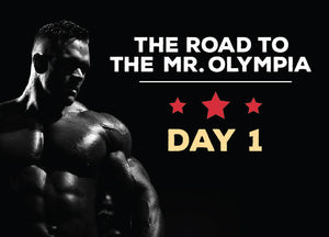 Dallas Journey to the Olympia : Day 1