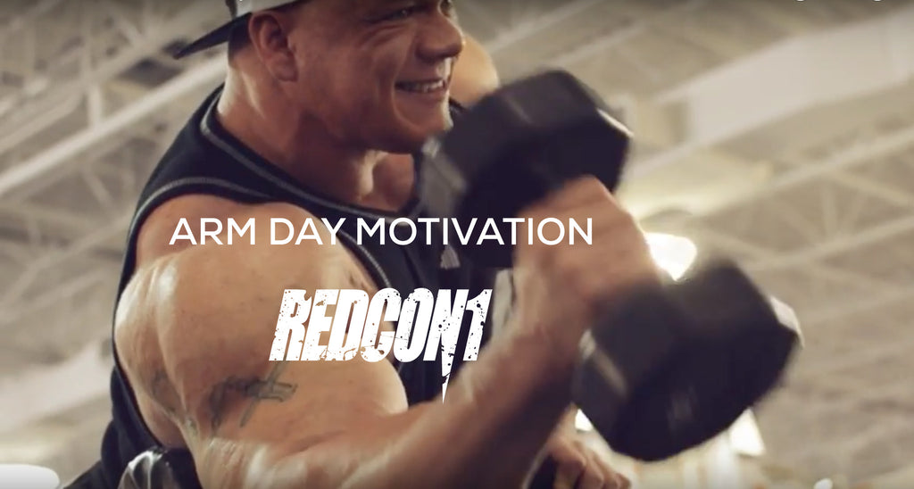 Arm Day Motivation – Dallas McCarver