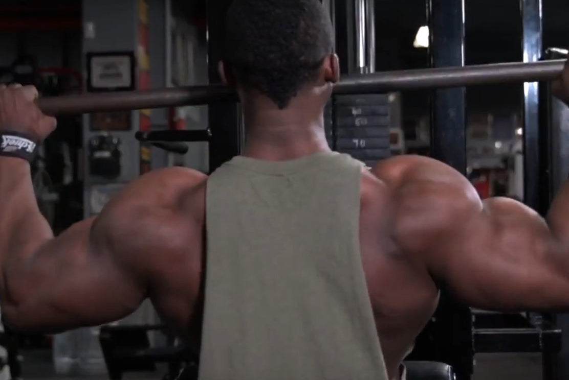 IFBB Pro Steve Laureus Trains Back 3 Months Out From the Pittsburgh Pro!