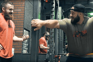ANTOINE VAILLANT + JOE BENNET TRAIN LEGS AND GLUTES!