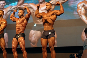 IFBB Pro Romane Lanceford's Classic Physique Debut In Italy!