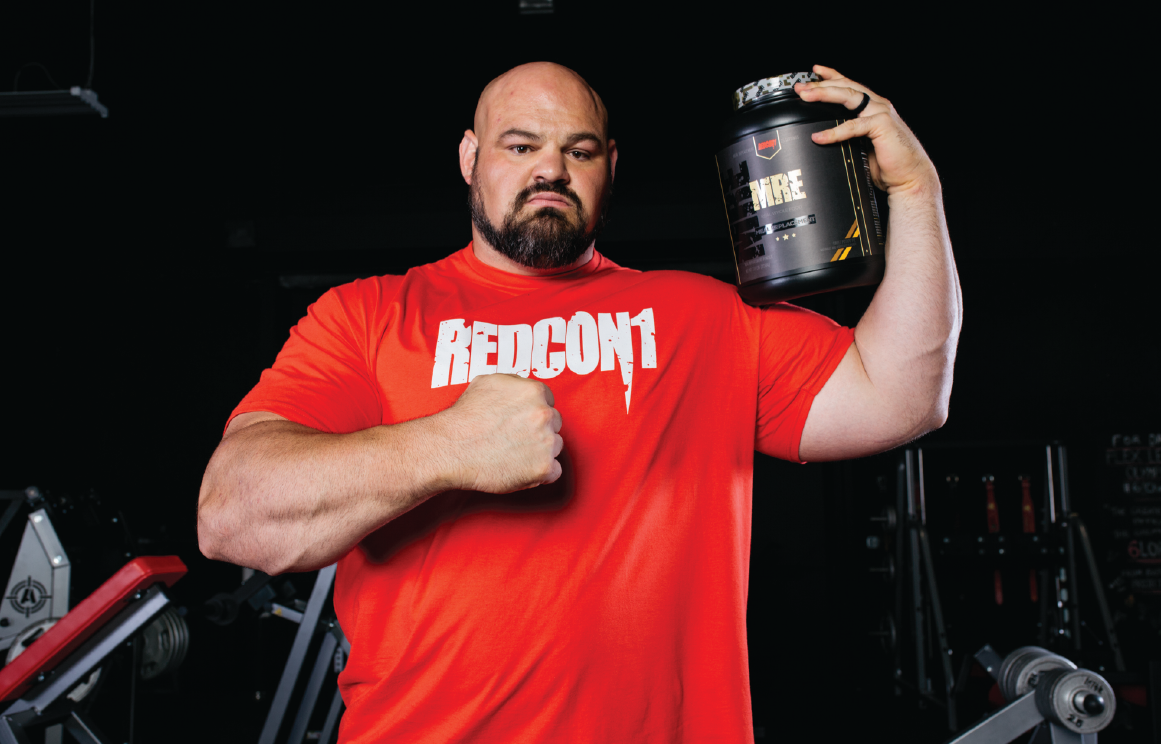 4X Worlds Strongman Brian Shaw Teams With Redcon1 -9411