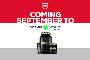Vitamin World to Carry Redcon1 Starting September '18
