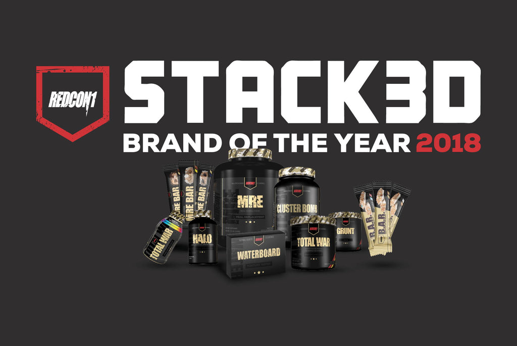 2018 STACK3D Brand of the Year
