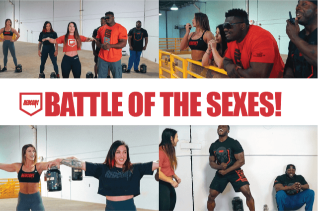 Redcon1 Athlete Challenge: Battle of the Sexes!