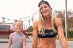 Jesse & Brodie Bowen Mommy-Daughter Conditioning Workout!