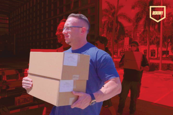 REDCON1 Donates Over 20,000 Protein Bars To South Florida Hospitals, First Responders, and Firefighters, COVID-19