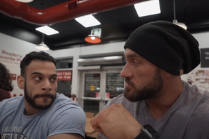 Five Guys Cheat Meal with Antoine Vaillant & Durrah