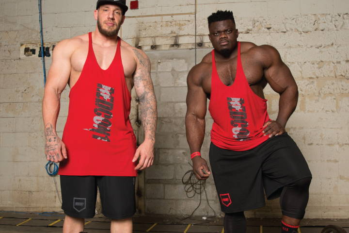 Blessing and Quentin Chest Day