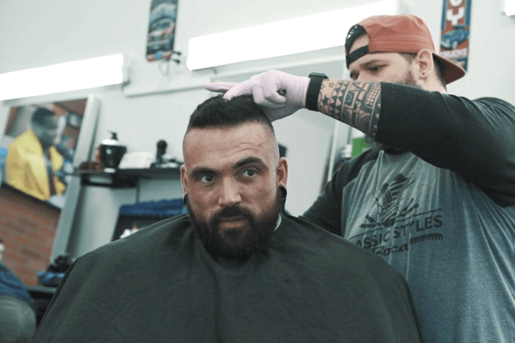 Getting Cut with Redcon1 Featuring Luke Sandoe