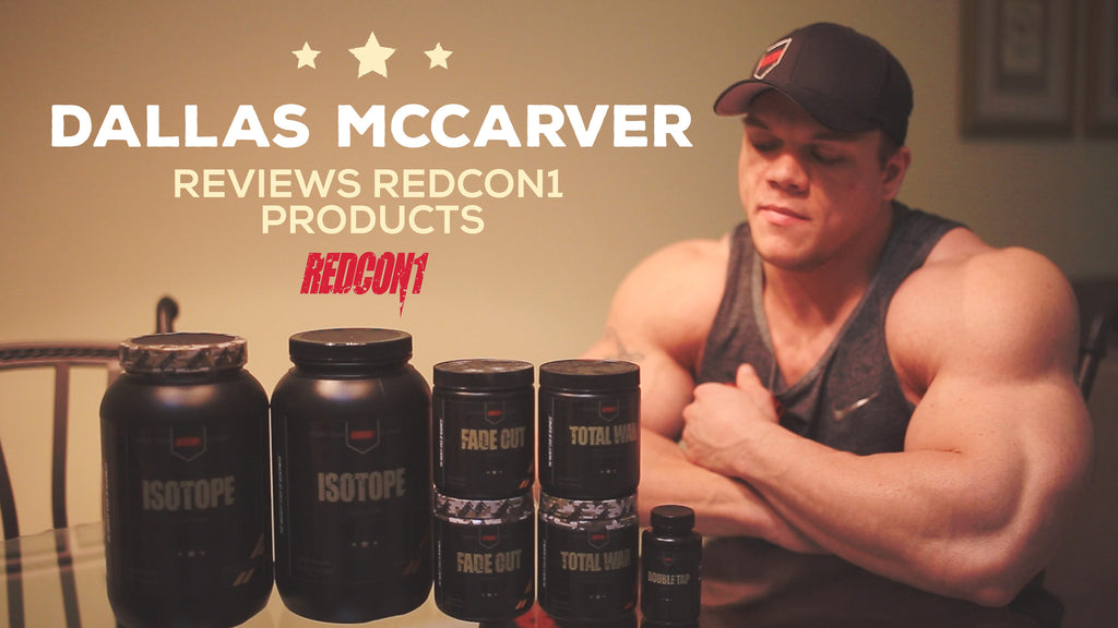 Dallas McCarver Reviews Redcon1 Products