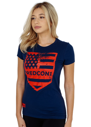 Womens Patriot Shield Shirt