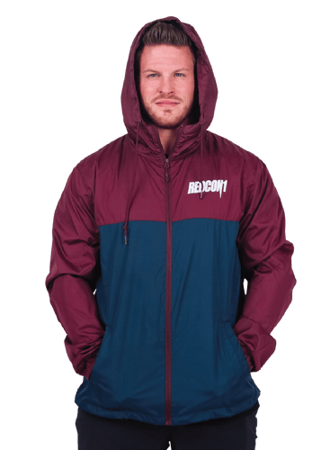 Limited Apparel - Blue/Maroon Windbreaker