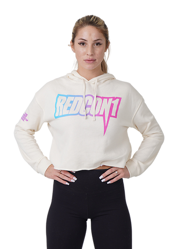 Womens Vice City South Beach Crop Hoodie