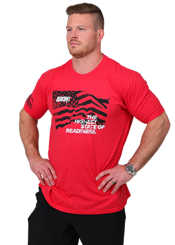 Red Flag 1776 Shirt