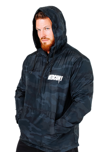 Smoke Camo RainJacket