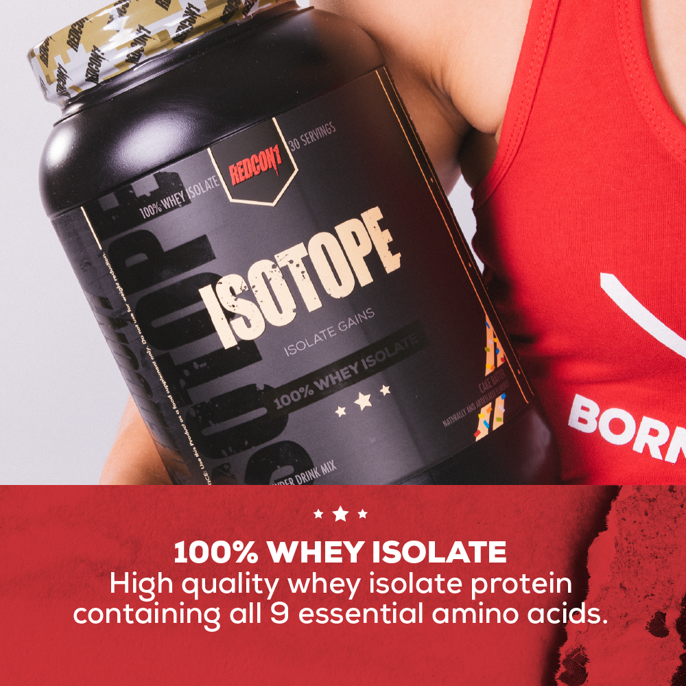 Redcon1 Isotope - Whey Protein – REDCON1
