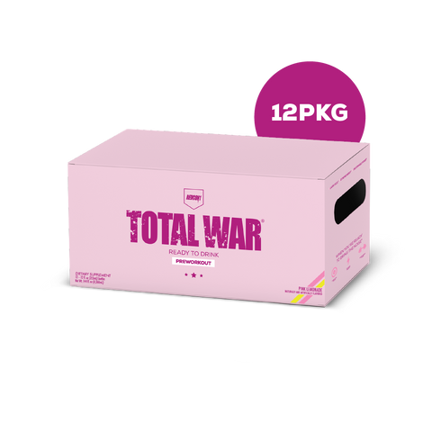 RTD Total War Preworkout (Ready To Drink) - Pink Lemonade