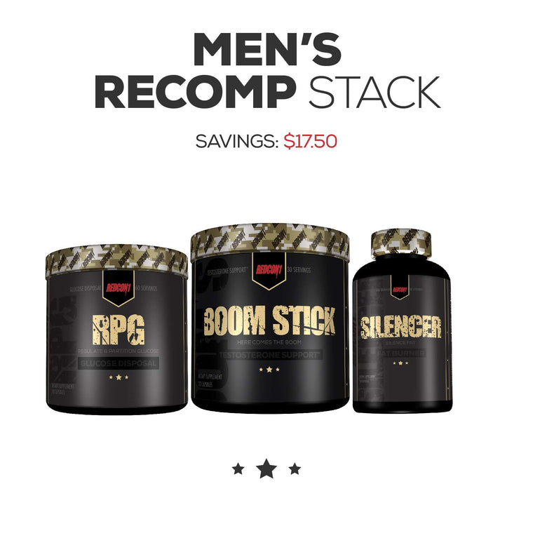 TWRC1: Men's Recomposition Stack-Redcon 1 Official