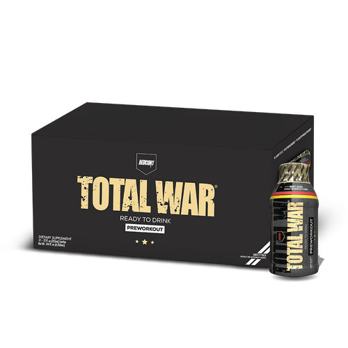 RTD Total War Preworkout Variety Case | Ready To Drink (12 Servings)