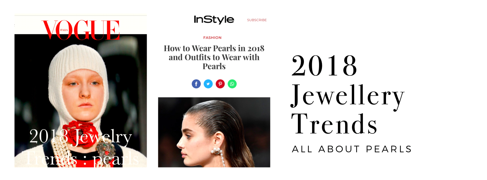 2018 Jewellery Trends - Pearls
