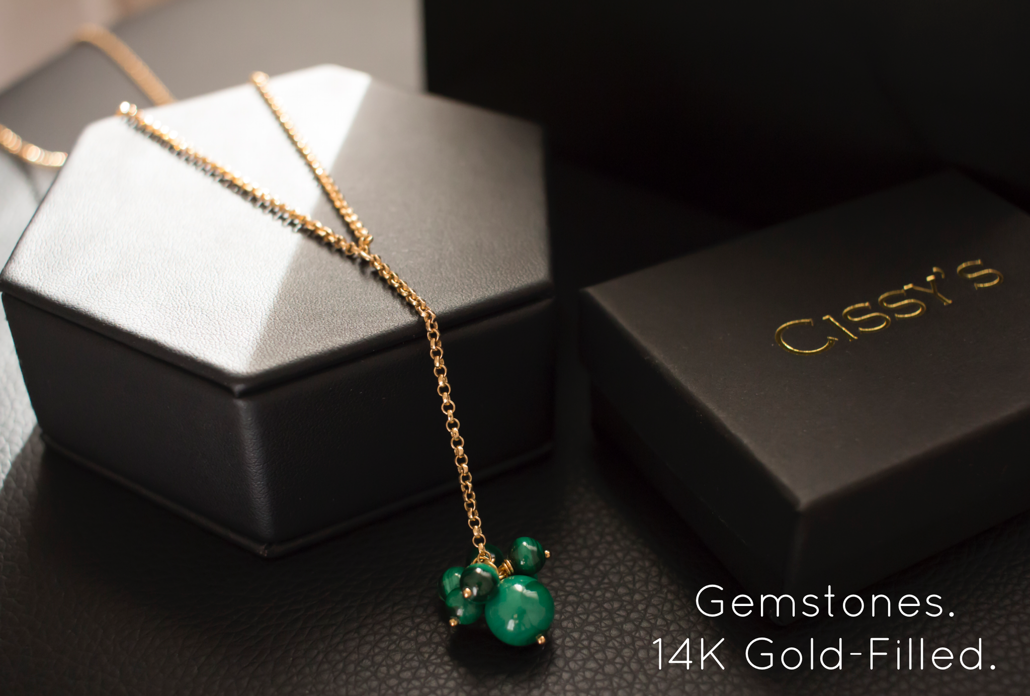 Cissy's Gemstones Jewellery. 14K Gold-Filled